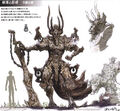 Taejin Tower Guardian Art FFXIII