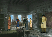 The party remembers Matron from FFVIII Remastered