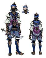 Blue Mage FFXI Art
