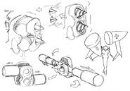 Cid's Ultimate Hammer concept for Final Fantasy Unlimited