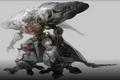 Diamond Weapon Kingsglaive Art