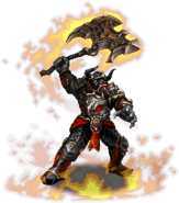 FFBE Veritas of the Flame Sprite 2
