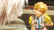 FFXIII-2 Alyssa Talking
