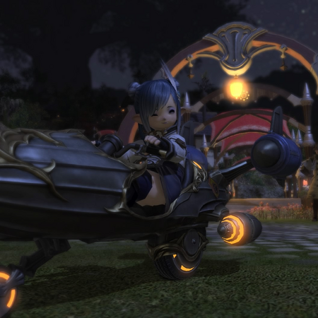 FFXIV Falcon Mount Ground.png
