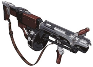 Wedges grenade launcher artwork for FFVII Remake