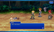 FFDII Alba Is Defeated