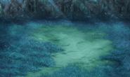 FFIV PSP Adamant Isles Forest Battle Background