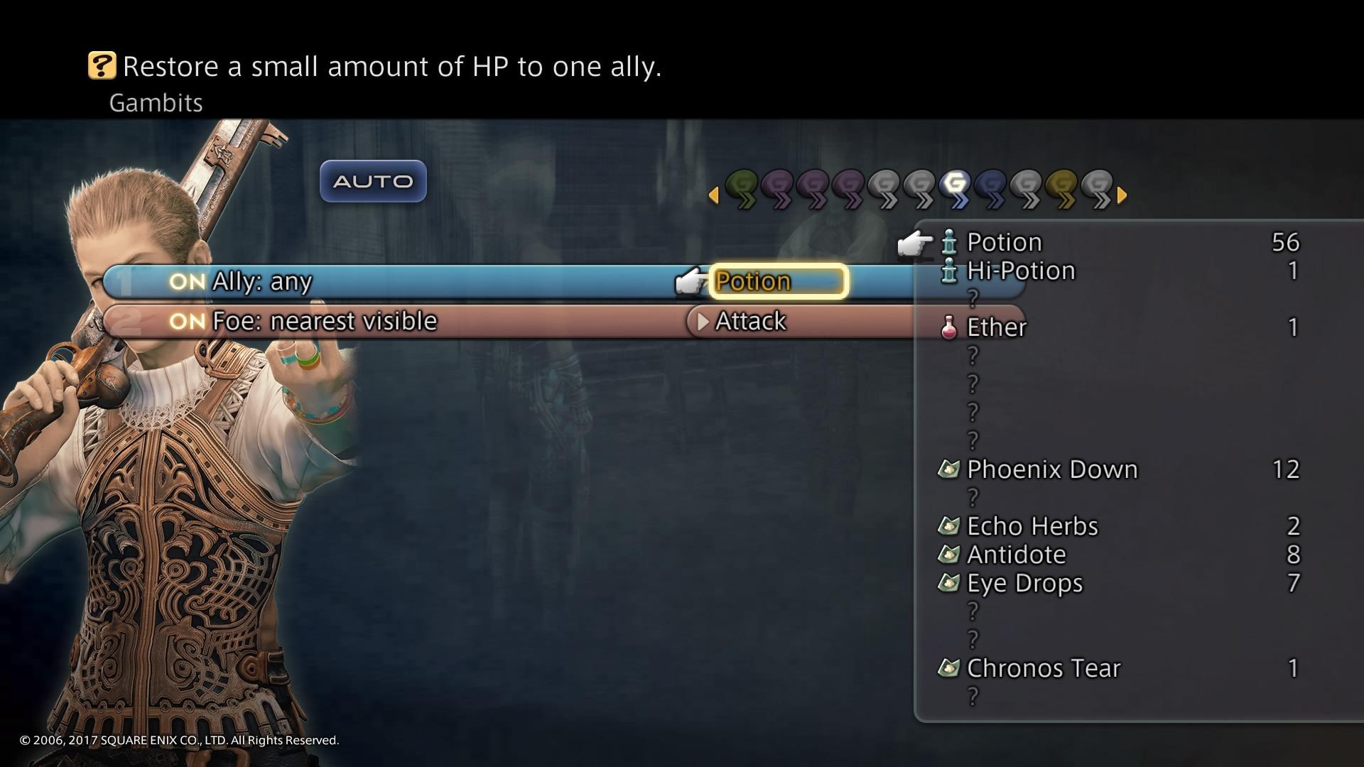 Menu (Final Fantasy XII)