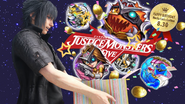 FFXV Justice Monsters Five Noctis Birthday