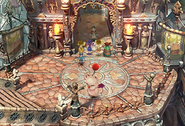 Lowell Bridges in a moogle suit from FFIX Remastered