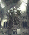 Old-Wall-Statue-The-Wise-Kingsglaive-FFXV