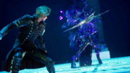 Prompto versus the Rogue from FFXVRE