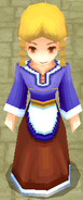 Troia girl NPC render ffiv ios