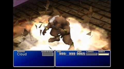 Anger of the Land - Titan summon sequence - FFVII