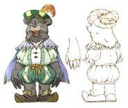 Bear Noble FFIX Art