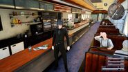 Cartanica diner in FFXV