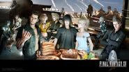 FFXV 2nd anniversary wallpaper 1920x1080
