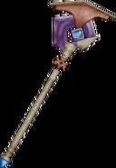 Asura's Rod from FFIX weapon render