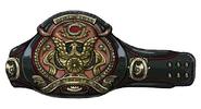 Champion Belt artwork for Final Fantasy VII Remake