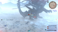 Dread Behemoth ice attack from FFXV