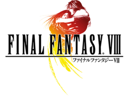 The Final Fantasy VIII logo.