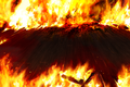 FFVI PC Battle Background Fire
