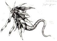 Sapphire Weapon FFVII Art