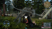 Elder coeurl pounce attack in FFXV