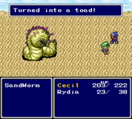 FFIV SNES Toad Dialogue