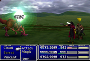 FFVII Vincent Attack