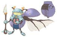 Ladybug FFIX Art