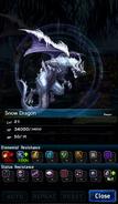 FFBE Snow Dragon Analyze