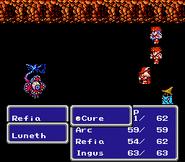 FFIII NES Cure