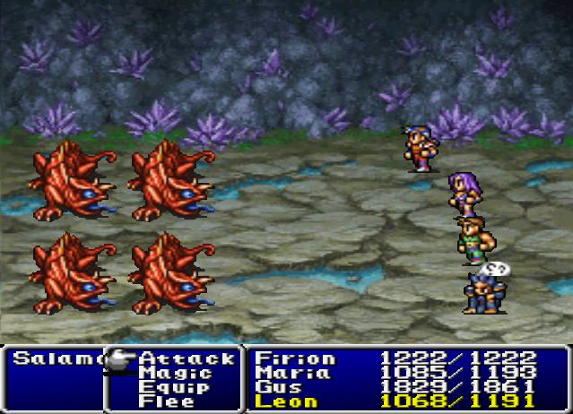 Final Fantasy II statuses