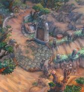 Aerbs Mountains South Gate Trail FFIX Art 2