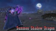 DFF2015 Summon Shadow Dragon