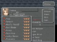 FFIX Status Screen 2