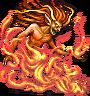 Fire Elemental in Final Fantasy.