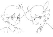 Yu sketch 1 for Final Fantasy Unlimited