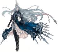 Ryne as Shiva from FFXIV concept art