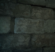 Steyliff Grove Menace wall symbols from FFXV
