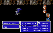 FFIII NES MindBlast