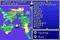 FFII GBA World Map