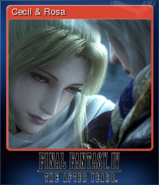 FFIV TAY Steam Card Cecil & Rosa