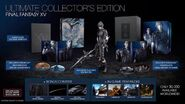 Final Fantasy XV deluxe edition and collector's edition