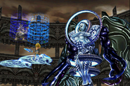 Kuja teleports the party from Necron from FFIX Remastered