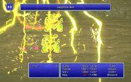 SMN using Judgment Bolt from FFIII Pixel Remaster