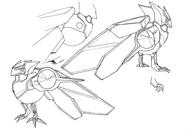 Ciel Chocobo concept lines 1 for Final Fantasy Unlimited