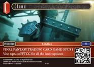FFTCG A-001 Cloud