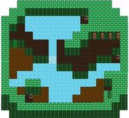 FF II NES - Mysidian Tower Ninth Floor